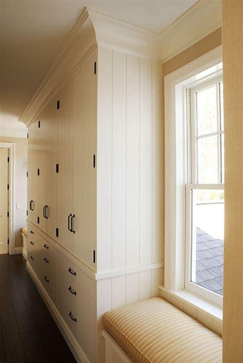 built in hallway storage ideas hallway floor to ceiling storage ideas modern country