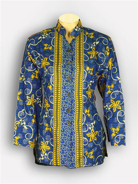 Baju Korpri Wanita M baju batik wanita parang 880110