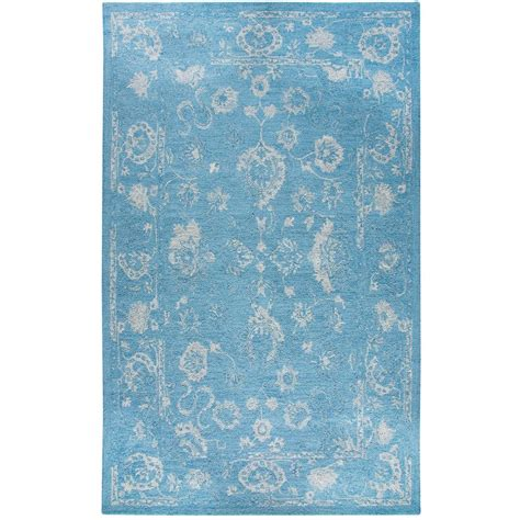 avalon rug dynamic rugs avalon turquoise silver 5 ft x 8 ft indoor area rug av6988800507 the home depot