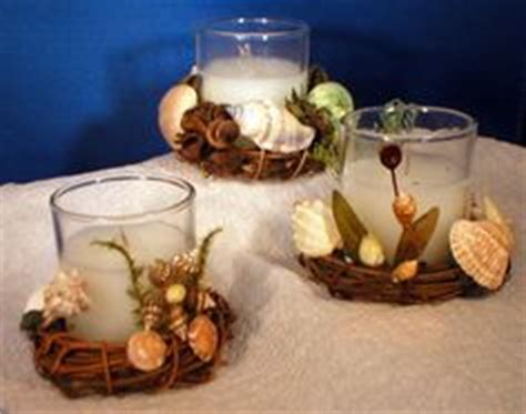 how to decorate with seashells basket craft petticoat art with shells on pinterest shell wreath seashell