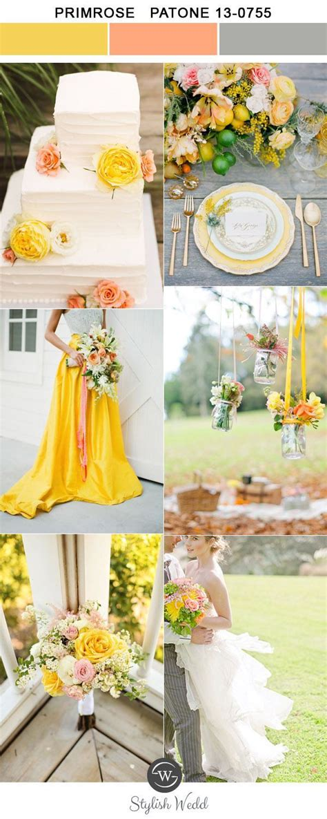 april wedding colors 2017 top 10 wedding colors for spring 2017 inspired by pantone weddings summer wedding ideas and