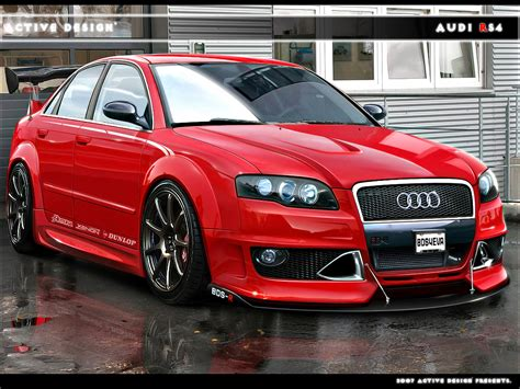 Audi RS4: History of Model, Photo Gallery and List of Modifications
