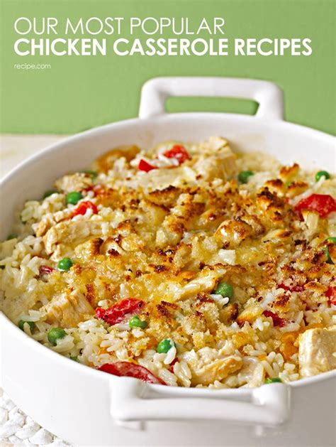 our best chicken casseroles casseroles pinterest