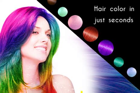 changing hair color app change hair color apk for blackberry android