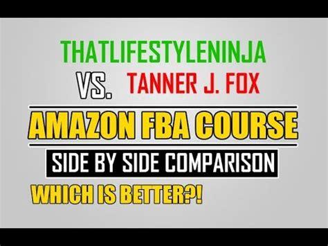 J Fox Mba Course by Thatlifestyleninja Vs J Fox Side By Side Fba