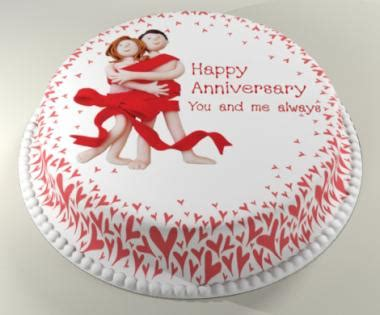 1st Wedding Anniversary Quotes On Cake by Happy Anniversary Cake Other Holidays Myniceprofile