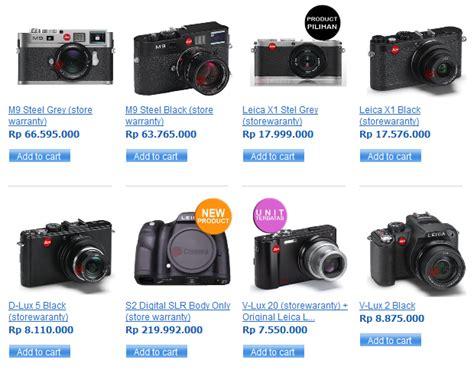 Kamera Dslr Leica harga kamera digital slr leica