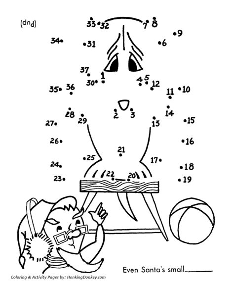 Christmas Activity Pages Dot To Dot Activity Sheet Activity Coloring Pages