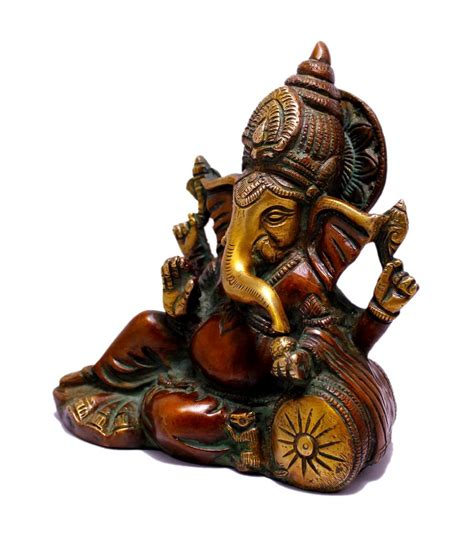 about indian wholesale sculpture statue handicraft and buy indian religious gift two tone god ganesha idol