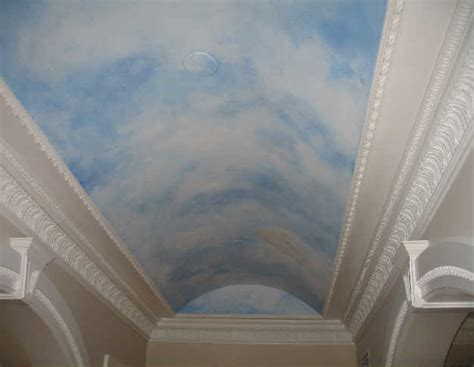 murals and faux painting faux painted sky ceiling in holmdel nj