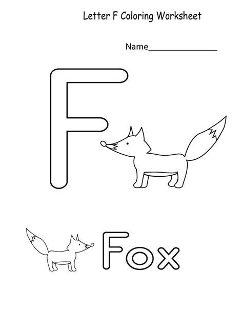 letter f worksheets number 2 tracing worksheets learning printable 1361