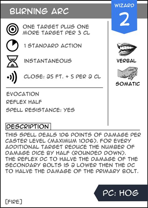 d d 3 5 spell card template 3 5 spell and maneuver cards