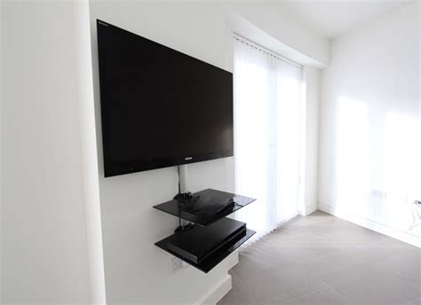 shelves for cable box and dvd player glass tv shelf in black for dvd and cable box