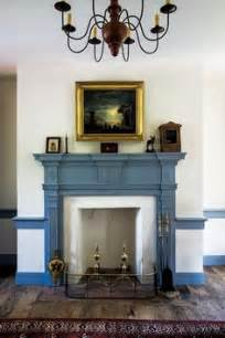 Blue Mantle Fireplaces by 1000 Images About Painted Fireplace Mantels On