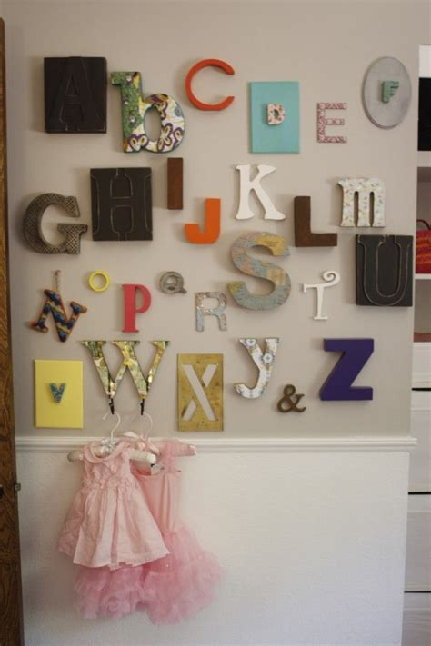 Funky Nursery Decor 17 Best Ideas About Alphabet Wall On Pinterest Diy Nursery Decor Baby Room Colors And Toddler