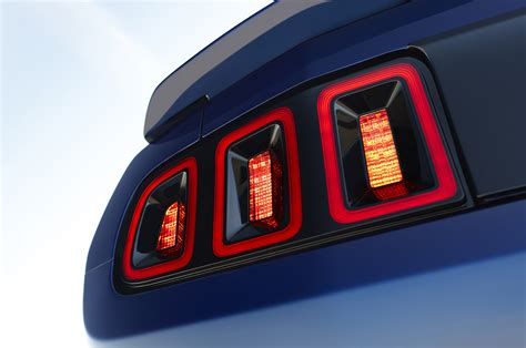 2013 Mustang Lights by Ford Officially Announces 2013 Mustang With Updated Look