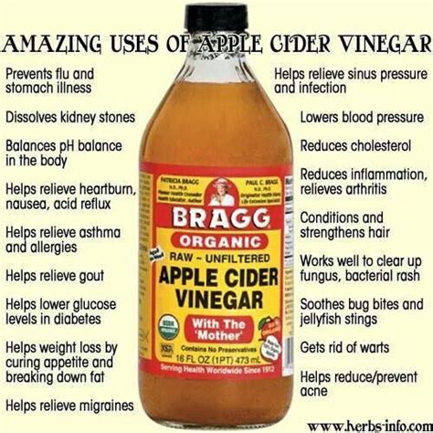 Benefit Of Apple Cider Vinegar Detox by Apple Cider Vinegar Home Remedies Information Tips Diy
