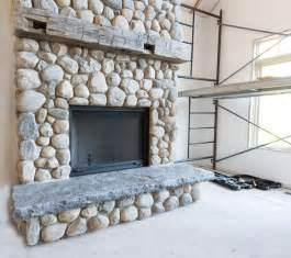 river rock stone fireplace fireplace designs 10 brilliant fireplace rocks for living room ward log homes
