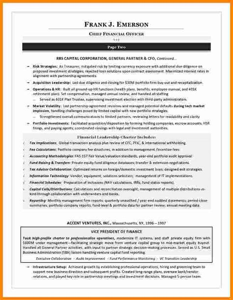 Leader Resume Exles 6 Leadership Resume Exles Ledger Paper