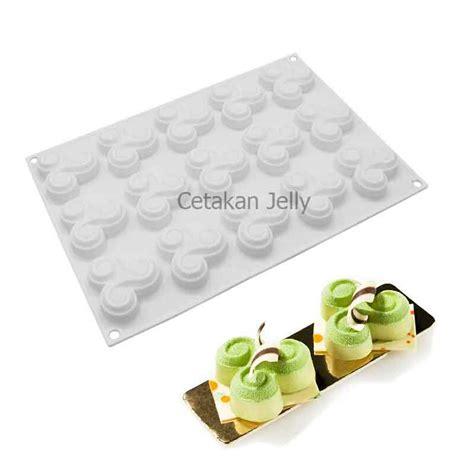 Cetakan Kue Puding Big Aster Berkualitas cetakan silikon coklat puding 3 cycle cetakan jelly