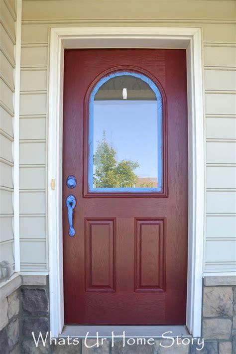 front door painting how to paint a front door