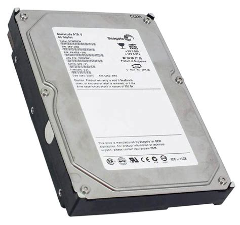 Harddisk Seagate Barracuda 80gb 9w4002 046 seagate barracuda 80gb ata 100 drive