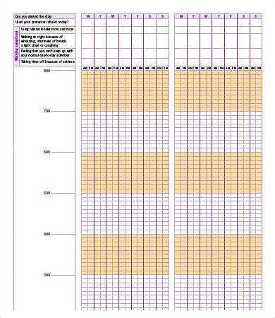 Sle Peak Flow Chart In The Diagram Most Vis Execute With Input Starting First In This Case Asthma Diary Template