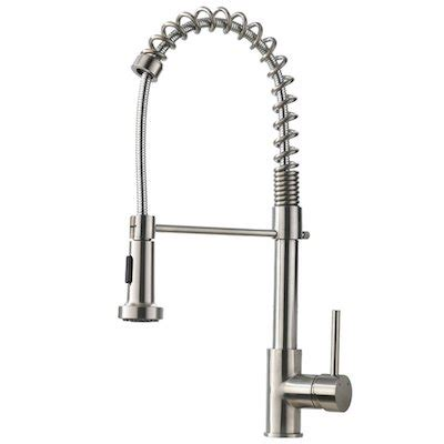 top 10 best stainless steel kitchen faucet reviews in 2018