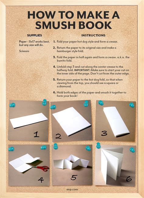 How To Make A Book From Paper - aop homeschooling how to make a smush book