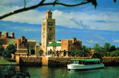 Florida Family Court Records Florida Memory Morocco Pavilion In Epcot Center At The Walt Disney World Resort In