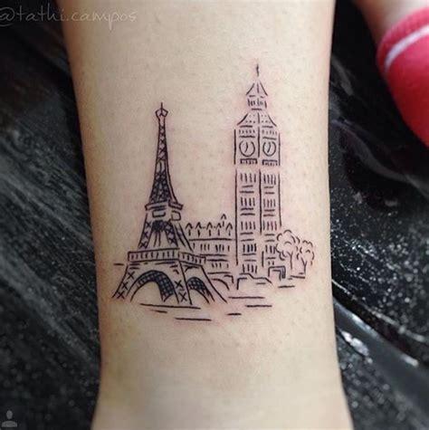 paris tattoo best 10 ideas on seattle skyline