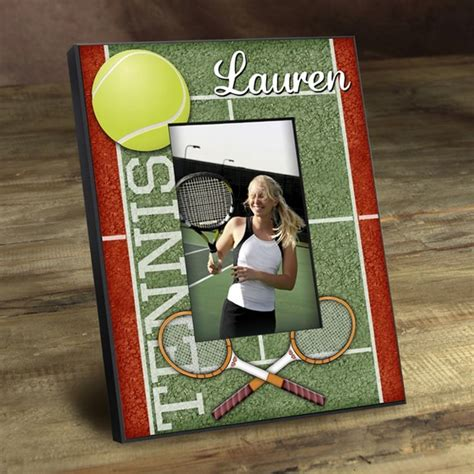 themed picture frames tennis photo frame custom picture frames personalized