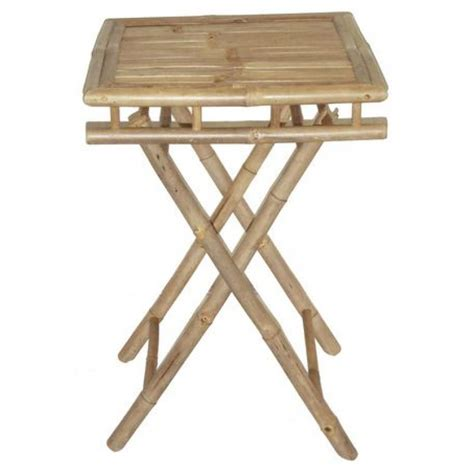 small bamboo table bamboo folding table small square