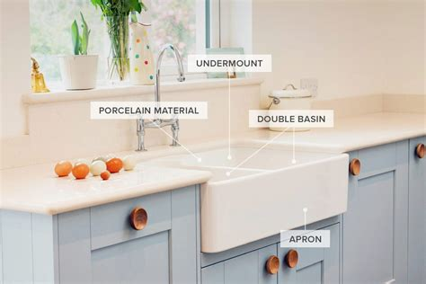 types of kitchen sinks a guide to 12 different types of kitchen sinks