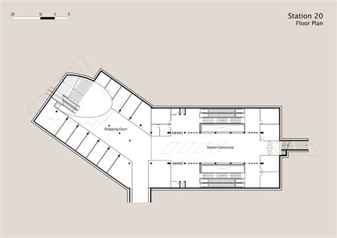 station floor plan metro station 20 in sofia bulgaria by ruge architekten