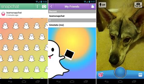 snapchat android self destructing snapchat app launches for android ultimate sexting tool droid