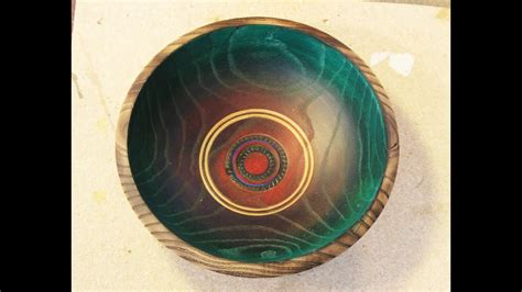 decorating  bowl woodturning  sam youtube