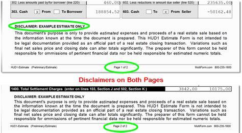 Construction Estimate Disclaimer Sle Driverlayer Search Engine Real Estate Disclaimer Template