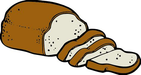 clipart pane loaf of bread clip at clker vector clip