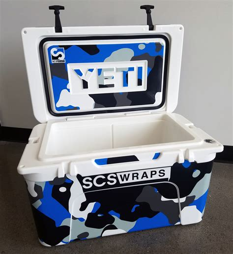 Yeti Cooler Wrap Template Custom Yeti Cooler Wrap 183 Scs Wraps