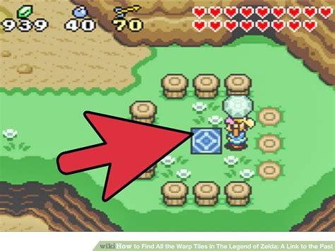 How To Find From The Past How To Find All The Warp Tiles In The Legend Of A Link To The Past
