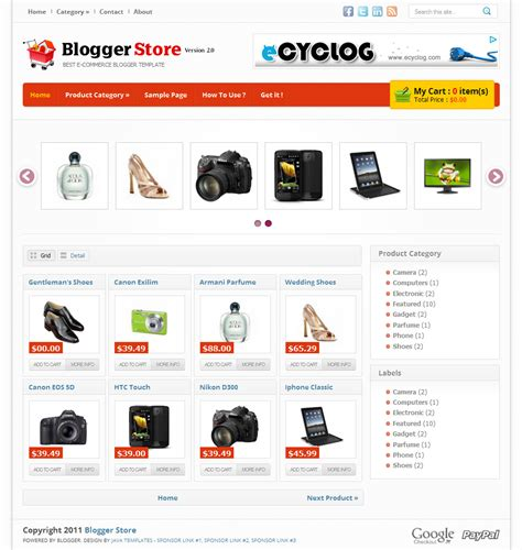 template toko online blogspot tanpa shopping cart download template blogger toko online gratis wetiga