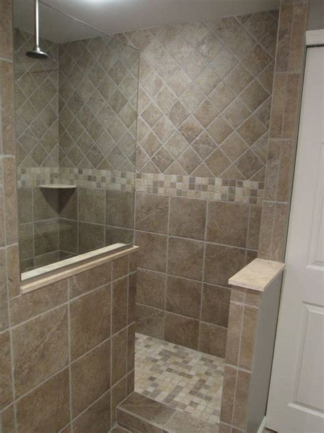 Tile Showers Images by 25 Best Ideas About Shower Tile Designs On