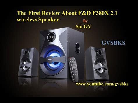 F D Bluetooth Hitam F380x f d f380x 2 1 bluetooth speaker review unboxing
