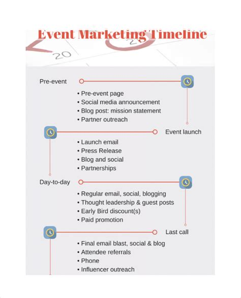 sle timeline template marketing timeline template 7 free excel pdf documents