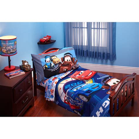 Disney Cars Bed Set Purchase The Disney Cars Max Rev 4 Toddler Bedding Set At Walmart Save Money Live