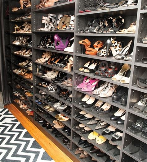 shoe and purse storage what does a stylists shoe and handbag closet look like