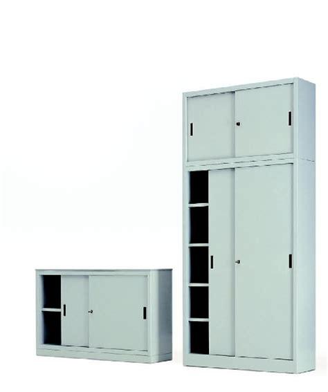 armadio metallico ante scorrevoli armadi metallici prof 45 cm armadio metallico ante
