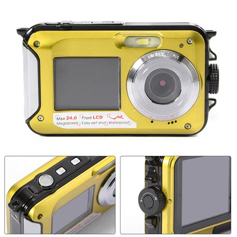 Kamera Camcorder 2 7 quot 1 8 quot doppel bildschirm lcd 2 screen 24mp digitale
