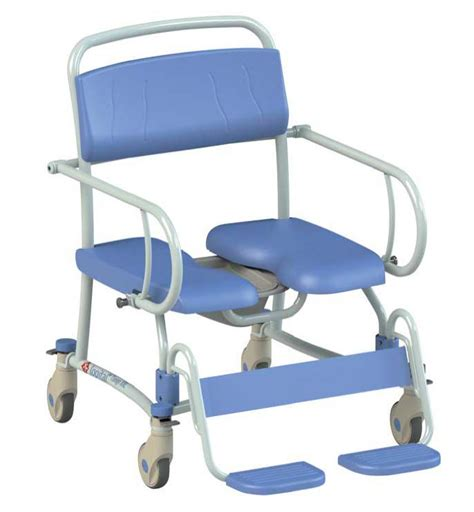 Shower Chair by Mobile Bariatric Shower Chair